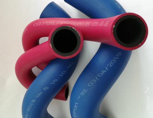 Цветные патрубки системы охлаждения-Волгопромтранс