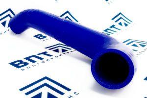 3302-1303010-10 Патрубок радиатора ГАЗ-3302 (дв.ЗМЗ-406) силикон
